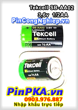Pin Lithium PLC-CNC Tekcell SB-AA02 1200mAh 3,6V (With axle)